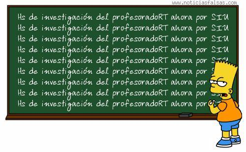 Resolución de Horas de Investigación para los Profesorados