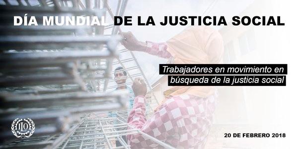 20/02 Día mundial de la Justicia Social