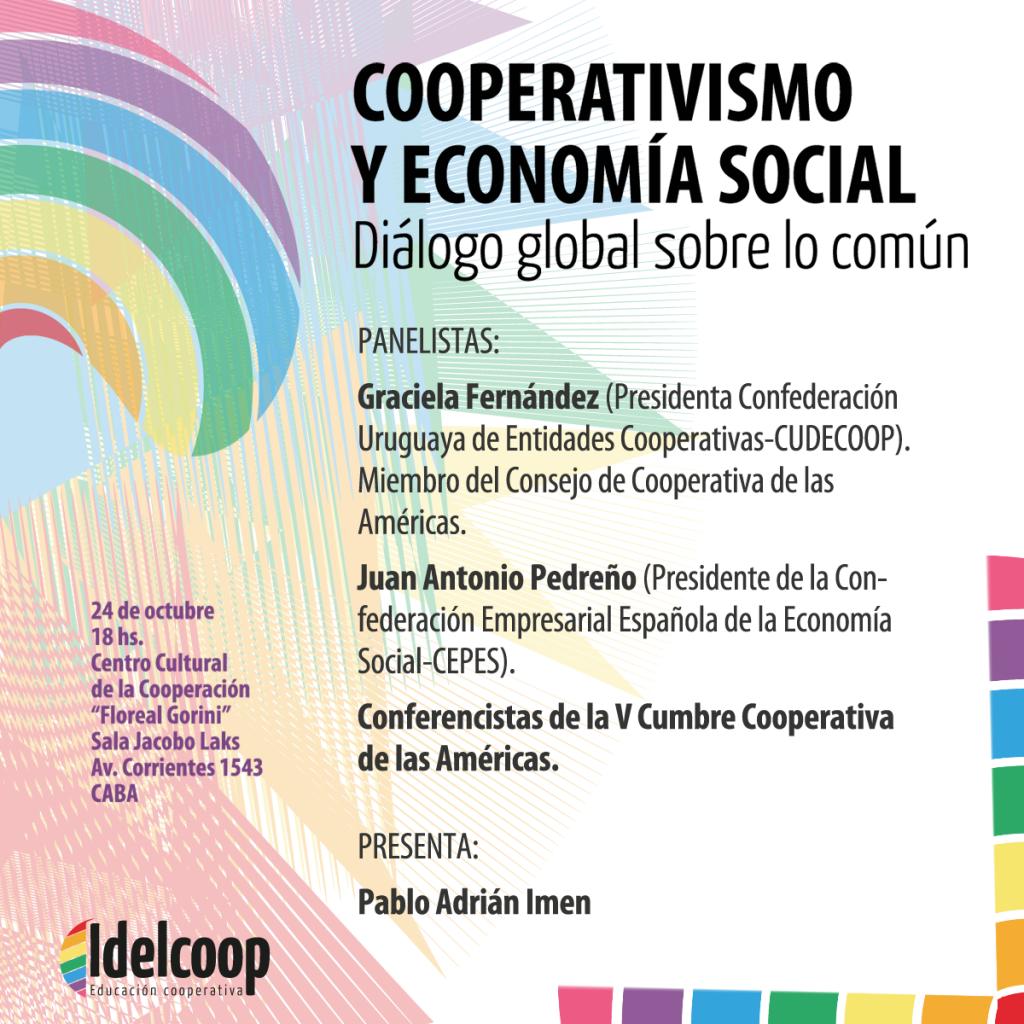 Encuentro de Cooperativismo y Economía Social. Diálogo global sobre lo común