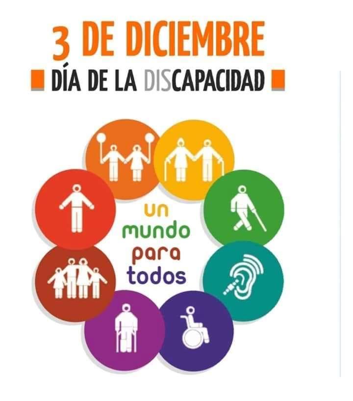 3 de diciembre – Día de la discapacidad