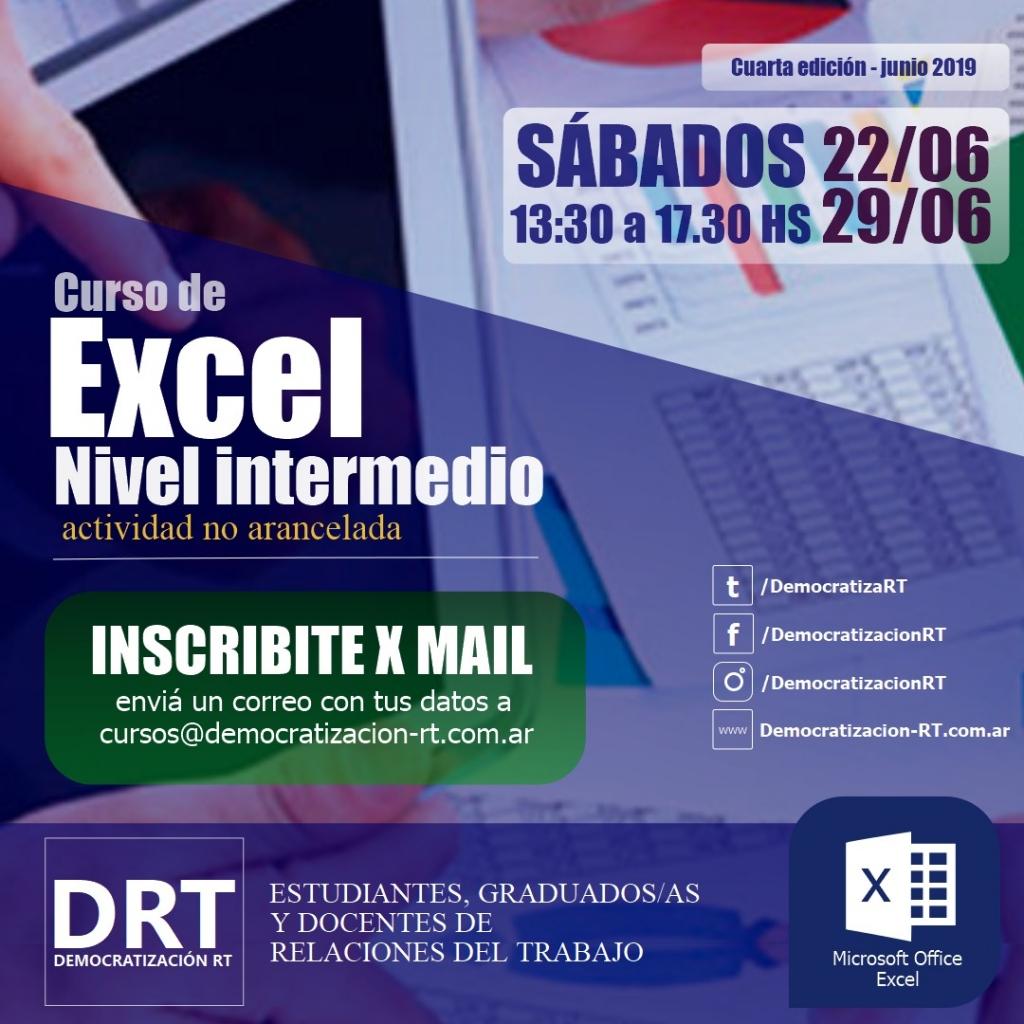 Curso de Excel – 4° Edición
