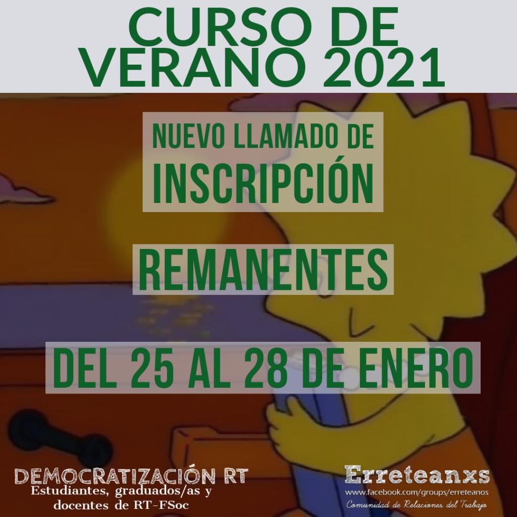 Curso de verano 2021