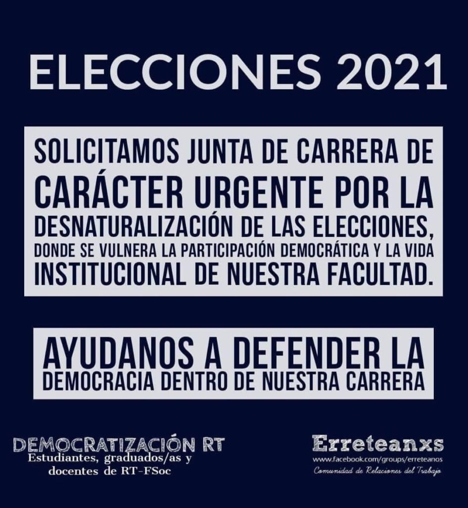 Elecciones Fsoc 2021